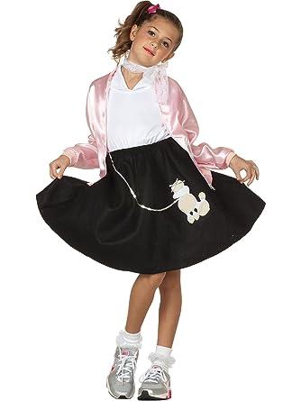 Childrens Poodle Skirt BlackChild Small