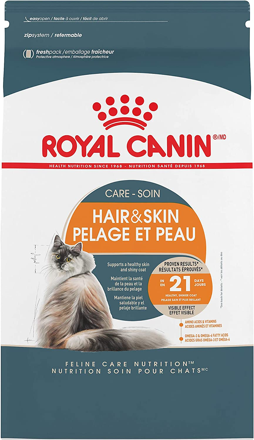 Royal Canin Hair & Skin Care Dry Cat Food, 7 lb. bag