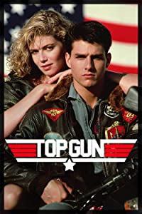 Top Gun (1986) Movie Tom Cruise and Kelly McGillis Classic Poster and Prints Unframed Wall Art Gifts Decor 11x17
