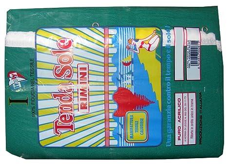 Tende Da Esterno Rimini.Tenda Da Sole Rimini Tinta Unita 140x300cm Verde Amazon