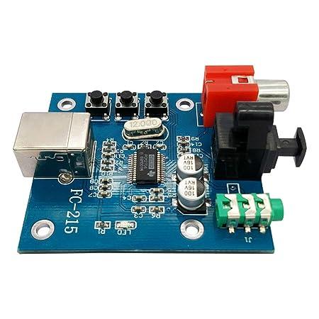 FairytaleMM Audio DAC USB a S/PDIF Tarjeta de Sonido HiFi DAC ...
