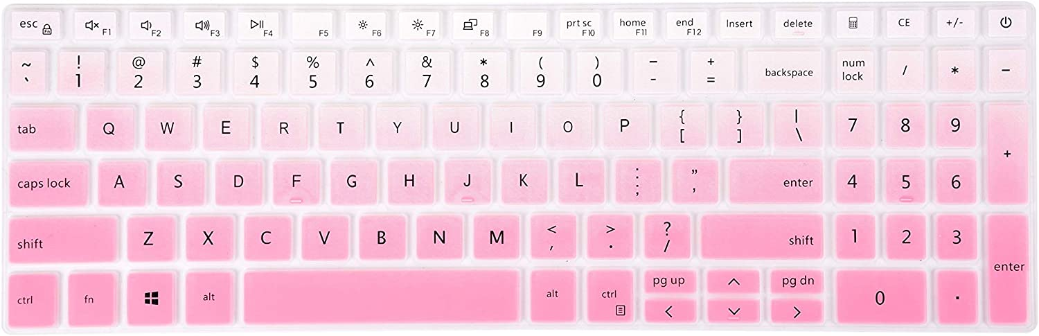 Keyboard Skin Cover for 15.6