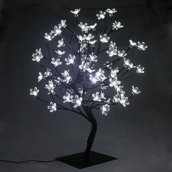 Pms 45 Cm 60 Cm Arbre Lumineux Decoratif Lampe Fleurs De Cerisier
