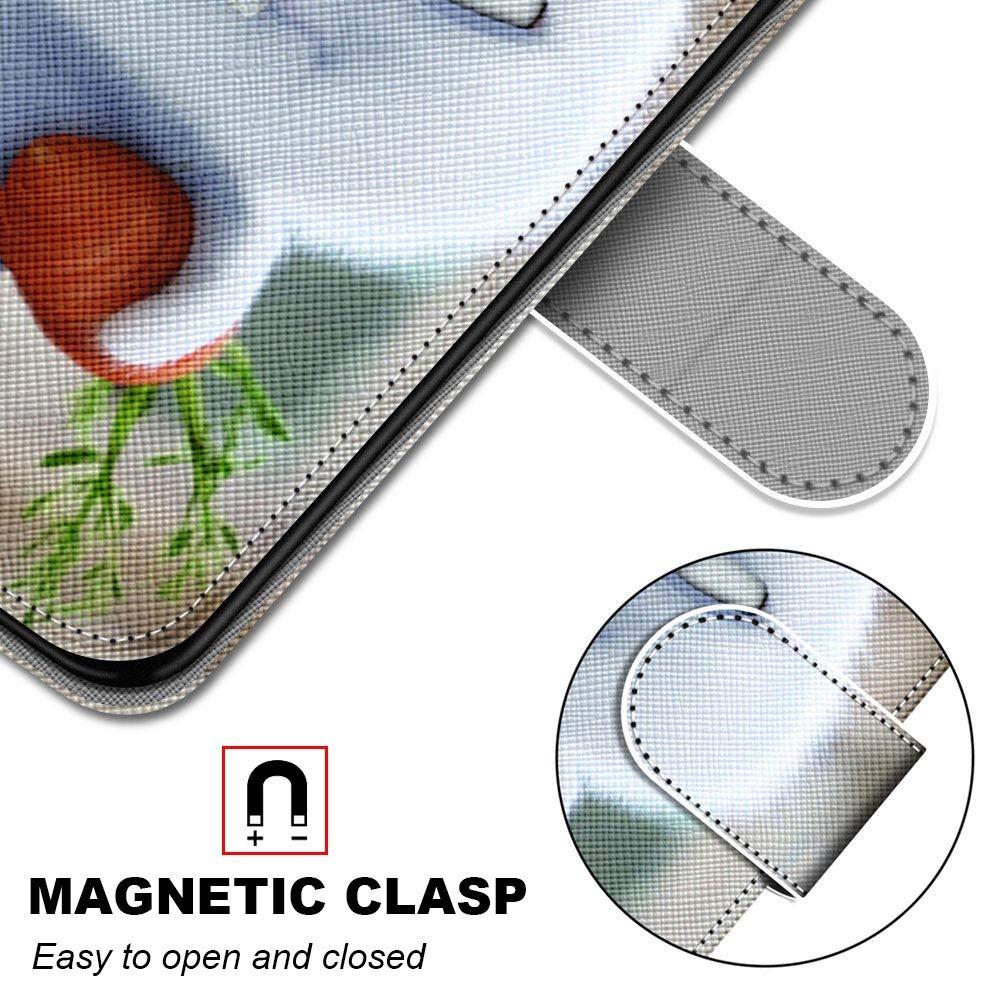 Miagon Flip PU Leder Schutzh/ülle f/ür Samsung Galaxy S7,Bunt Muster H/ülle Brieftasche Case Cover St/änder mit Kartenf/ächer Trageschlaufe,Fu/ßabdruck