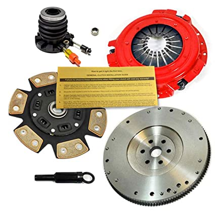 Amazon.com: EFT STAGE 3 HD CLUTCH KIT+FLYWHEEL+SLAVE 93-95 FORD RANGER MAZDA B2300 2.3L 4CYL: Automotive