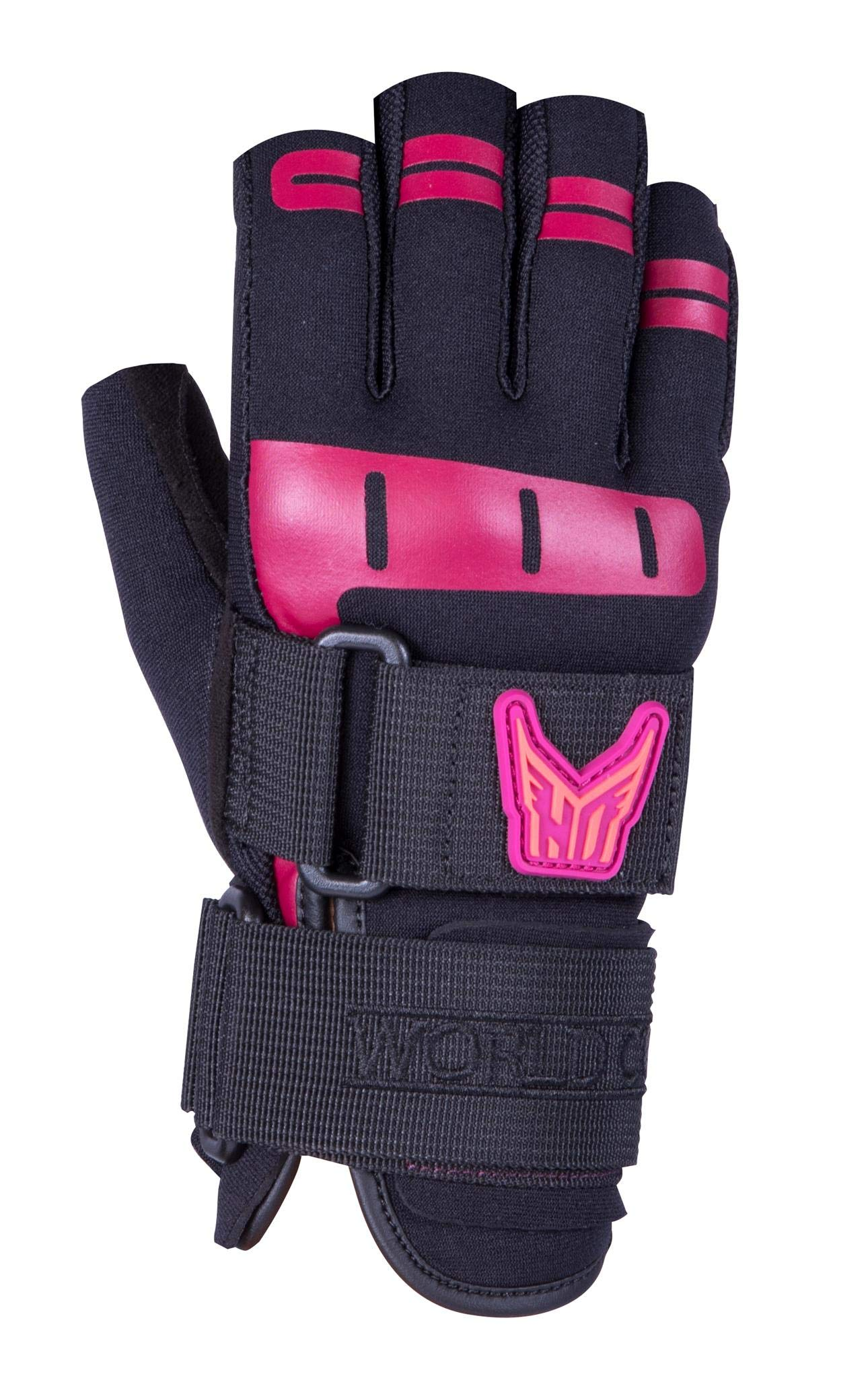 Ho Women's World Cup 3/4 Glove Black/Pink (Xs) by HO Sports