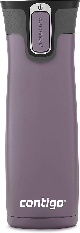Contigo AUTOSEAL West Loop Vacuum-Insulated Stainless Steel Travel Mug, 20 oz, Dark Plum