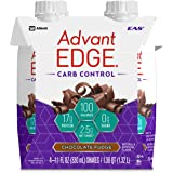 EAS AdvantEDGE Carb Control Ready-to-Drink Protein Shake, Chocolate Fudge, 11 fluid ounces, 24 count (Product May Vary)