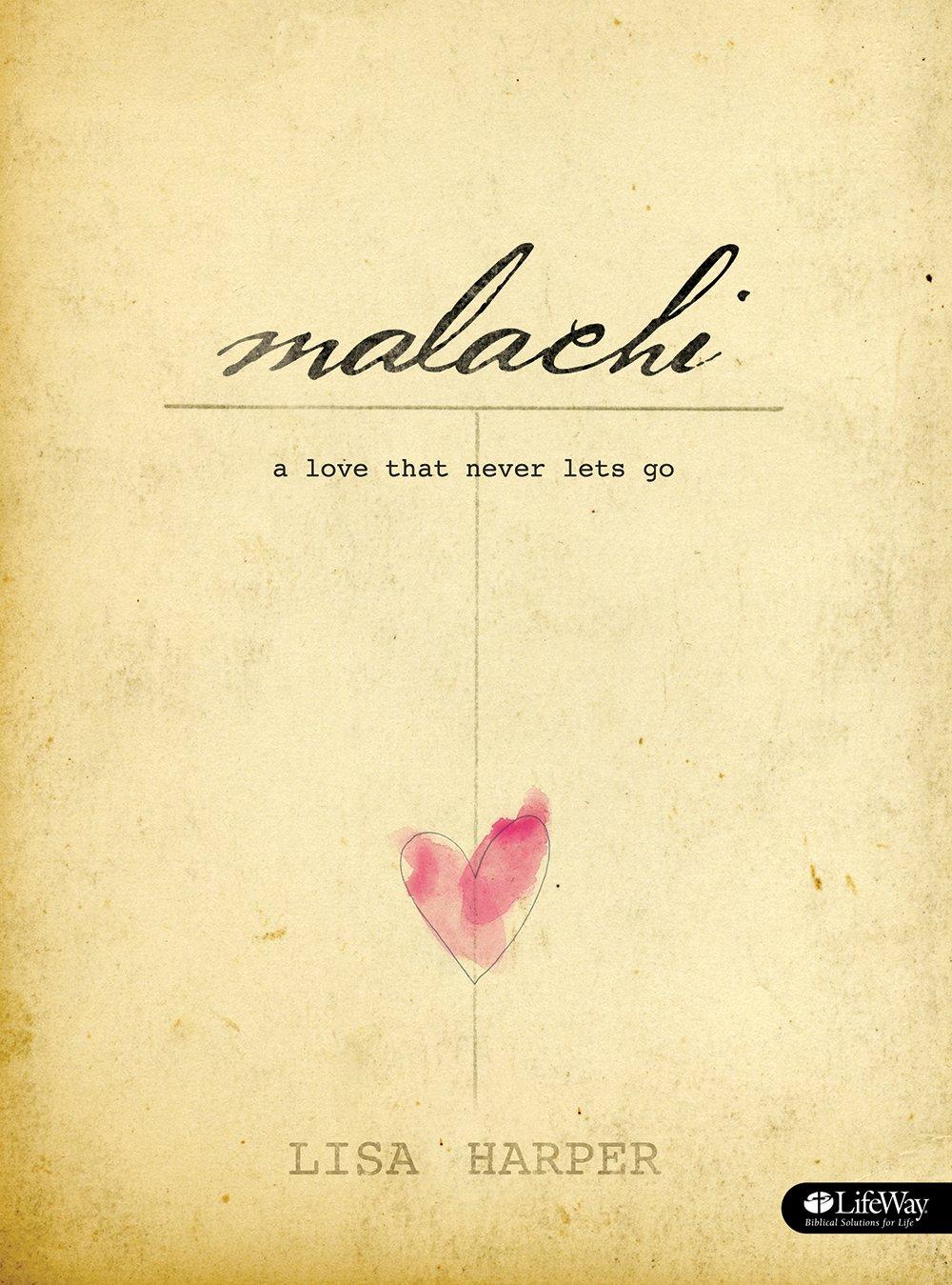Malachi Bible Study Book Never product image