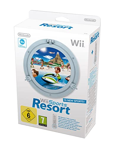 Wii Sports Resort + Wii Remote Plus Blanco: Amazon.es ...