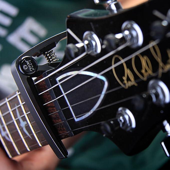 Nordell Pro Trigger - gatillo para guitarra/ukelele Acústica/eléctrica, de liberación y cambio rápido, plateado: Amazon.es: Instrumentos musicales
