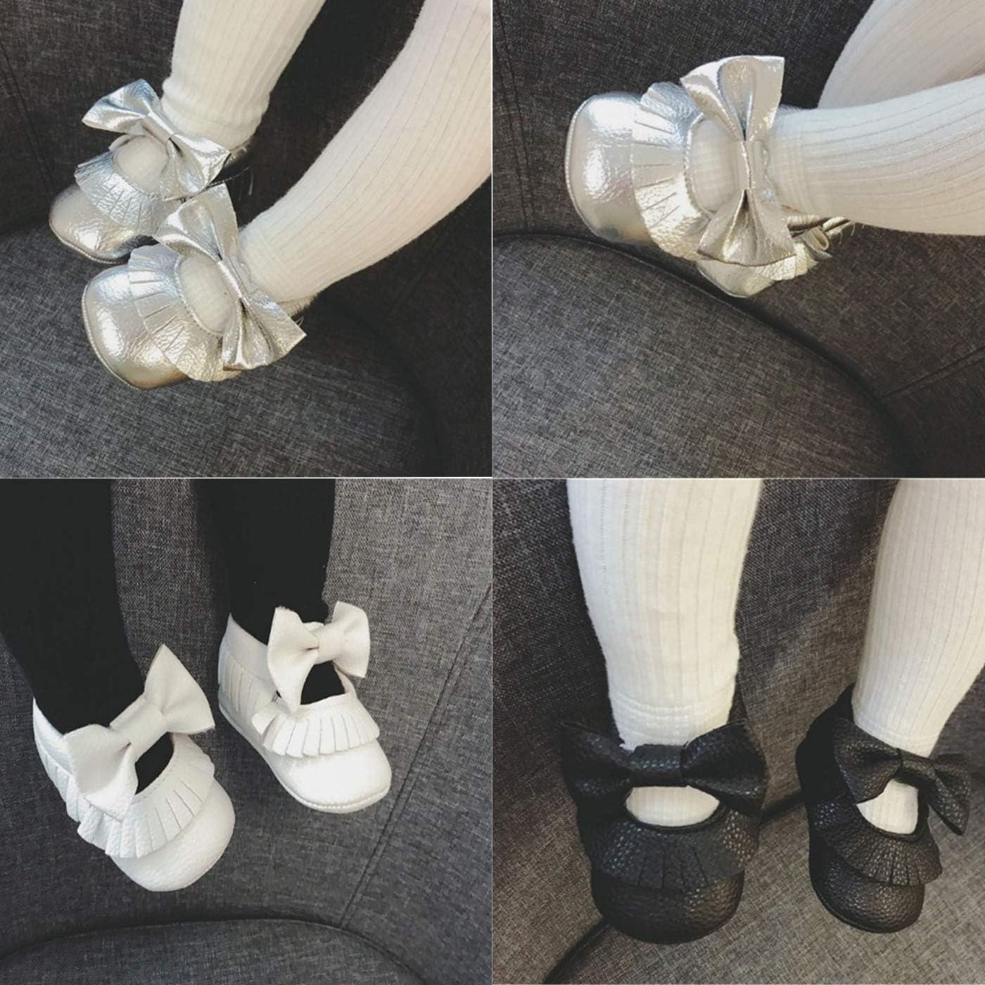 ENERCAKE Toddler Baby Boys Girls Shoes Non Slips Slipper Sneaker Moccasins Infant First Crib Walker House Shoes
