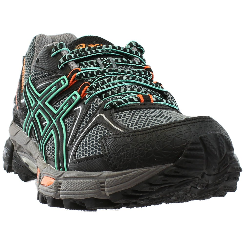 ASICS Women's Gel-Kahana 8 Running Shoe B01MXIN97I 6 B(M) US|Black/Ice Green/Hot Orange