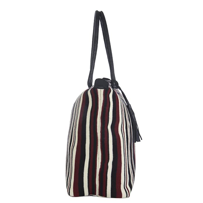 Pluchi Marianne Oversized Totebag Multi-Coloured Cotton Shoulder Bag Hand  Bag For Women 14x21