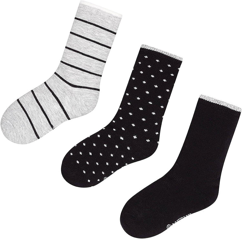 Mayoral Junior Boys 3-pair Socks Set Black Sizes 8-16