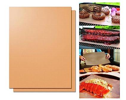 Rejilla de cobre conjunto de alfombrilla de 2 - asado ...