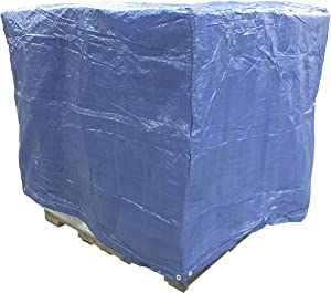 4 Ft. X 5 Ft. X 4 Ft. Blue Poly Pallet Cover