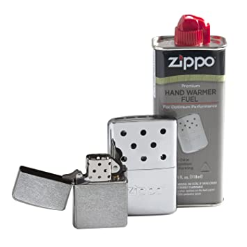 Zippo calentador de manos, Chrome Gift Set: Amazon.es: Deportes y aire libre
