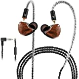 in-Ear Monitors, [Newest Updated Version] Wired Earbuds Headphones/Earphones/Headset Dual Drivers with MMCX Detachable…