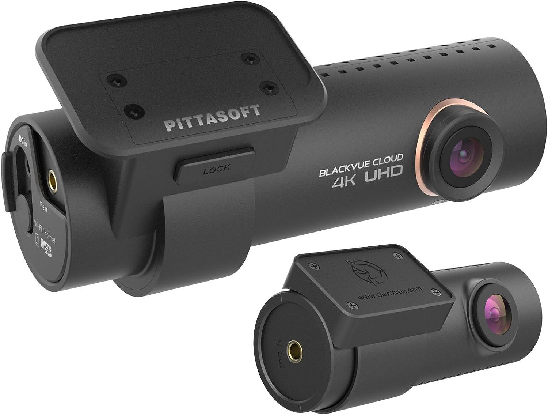 Blackvue Dr900s 2ch 4 K Ultra Hd Weitwinkel Cloud Verbunden Dash Kamera 128 Gb Auto