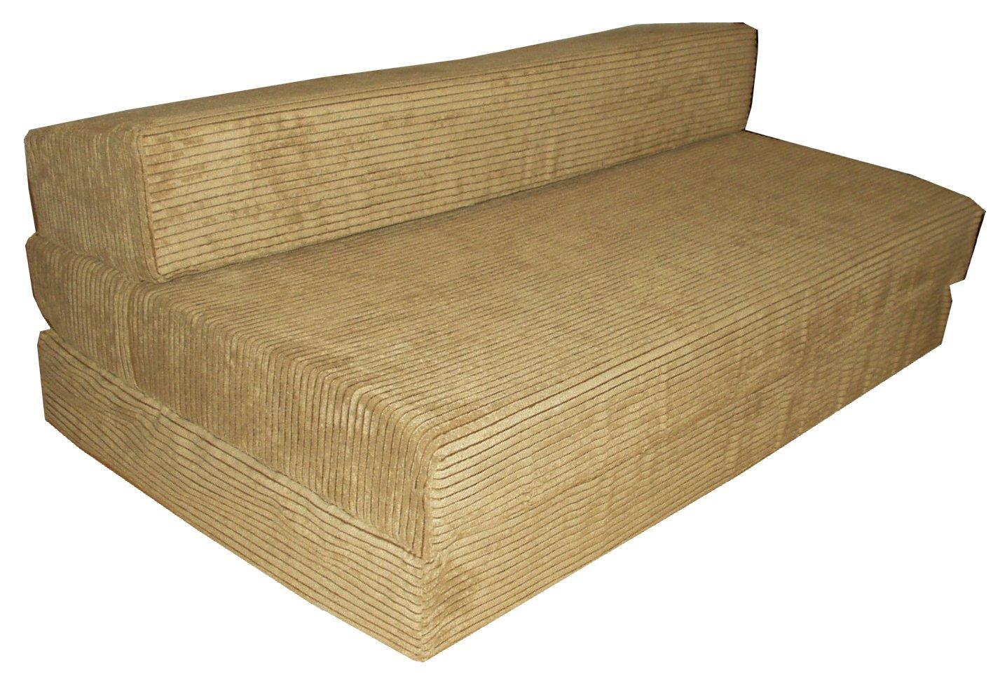 Fold Out Large Foam Guest Bed Folding Sofa Sit N Sleep Futon Seat