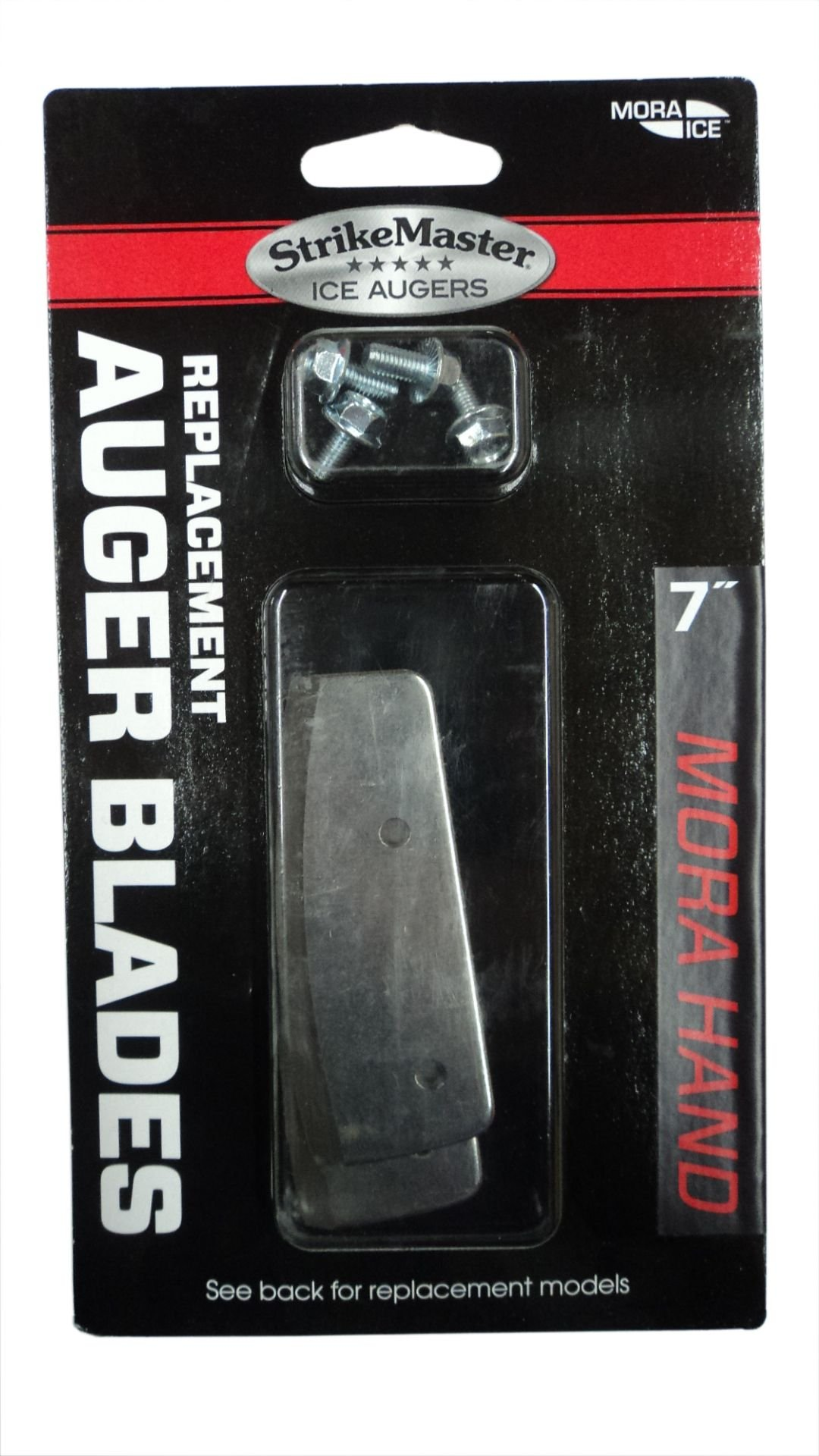 7'' Mora Replacement Blades - For Mora Ice Auger (Blue Shaft) - #MD-7B - Made in Sweden