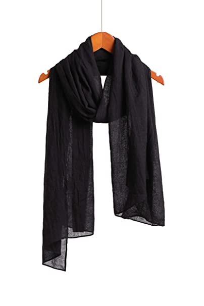27d7d7762 Cotton Feel Scarf Shawl Wrap Soft Lightweight Scarves And Wraps For Men And  Women. (