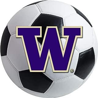 product image for FANMATS NCAA University of Washington Huskies Nylon Face Soccer Ball Rug