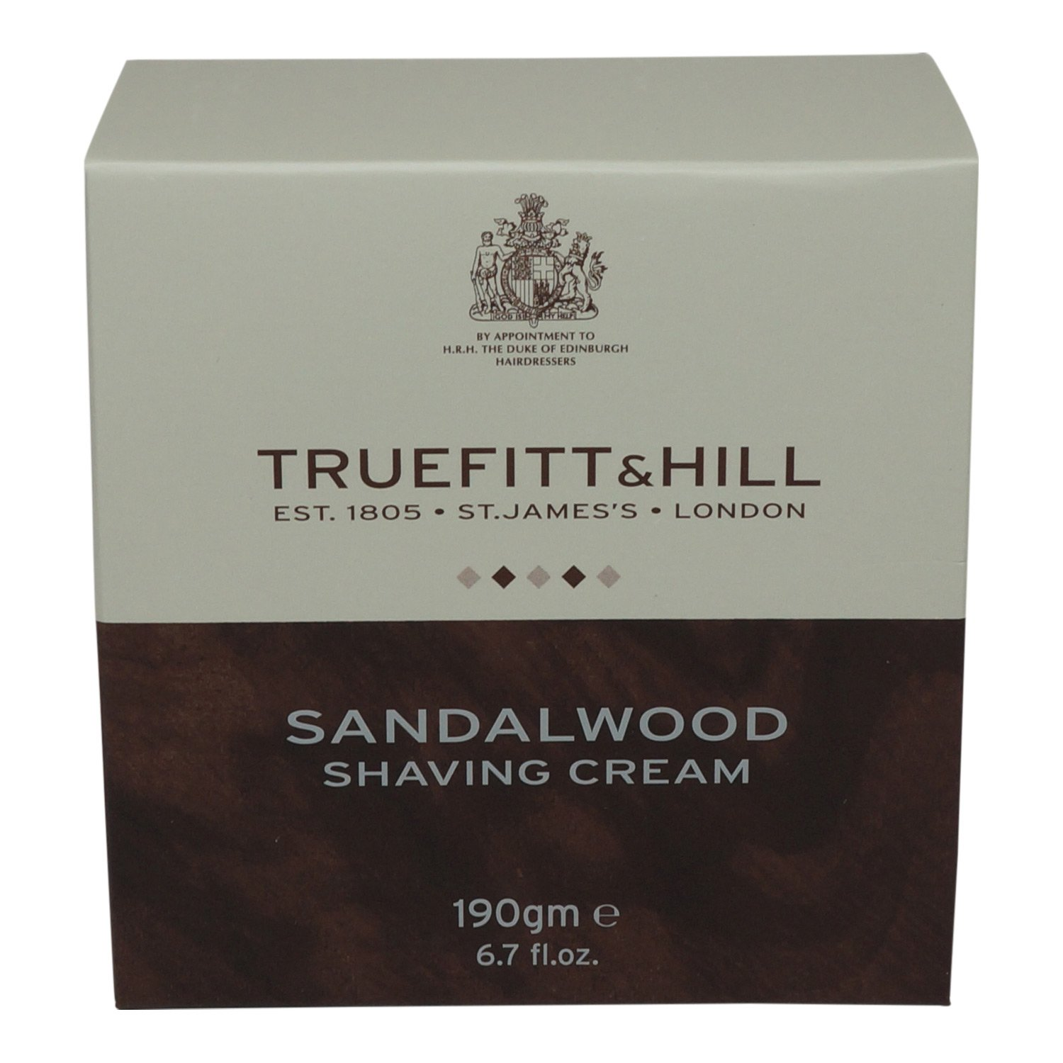 Truefitt & Hill - Sandalwood Shaving Cream 190g/6.7oz