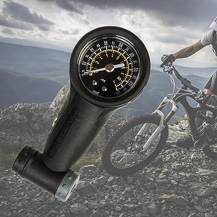 Calibrador de presión Favourall Giyo GG-05, para neumáticos de bicicleta, manómetro 160PSI, medidor para bicos de calle y de montaña, accesorio de reparación para ...