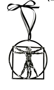 Vitruvian Man Ornament