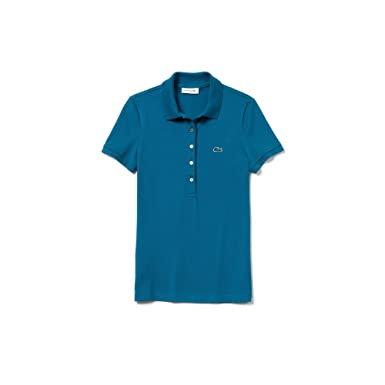081302e3 Lacoste Women's PF7845 Short Sleeve Polo Shirt: Amazon.co.uk: Clothing