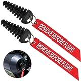 Coitak Muffler Exhaust Wash Plug, 0.6'-1.5' Wash Plug for Motorcycle Bike 2 Stroke Rubber Exhaust Silencer (2 Pack) (0.6…