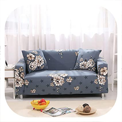 Amazon.com: Peony red Flower Slipcover Sofa Cover Tightly ...