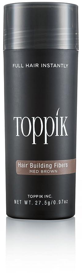 Toppik Fibras Capilares - Tamaño Grande (27.5g) - Color Castaño Medio
