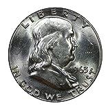 1963 U.S. Franklin 90% Silver Half Dollar - Mint