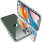 【Humixx】iPhone 11 Pro ケース クリアケース 米軍MIL規格取得 耐衝撃 UVハードコーティング レンズ保護 黄ばみ防止 持ちやすい ワイヤレス充電対応 5.8インチ対応 (クリスタル ・クリア)