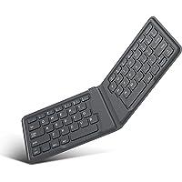 MoKo Wireless Bluetooth Keyboard, Ultra-Thin Foldable Rechargeable Keyboard for iPhone, iPad 9.7, iPad pro, Fire HD 10…