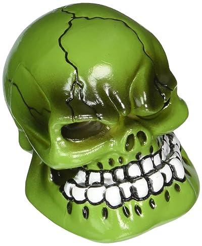 Pilot Automotive PM-2270 Green Skull Manual Shift Knob