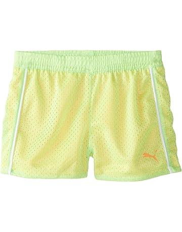 124bd2f14d10 PUMA Girls  Active Double Mesh Short