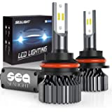 SEALIGHT 9007 HB5 Led Headlight Bulbs Hi/Lo Beam 12000LM 24xCSP Chips LED Conversion Kit Dual Beam Bulb 6000K White