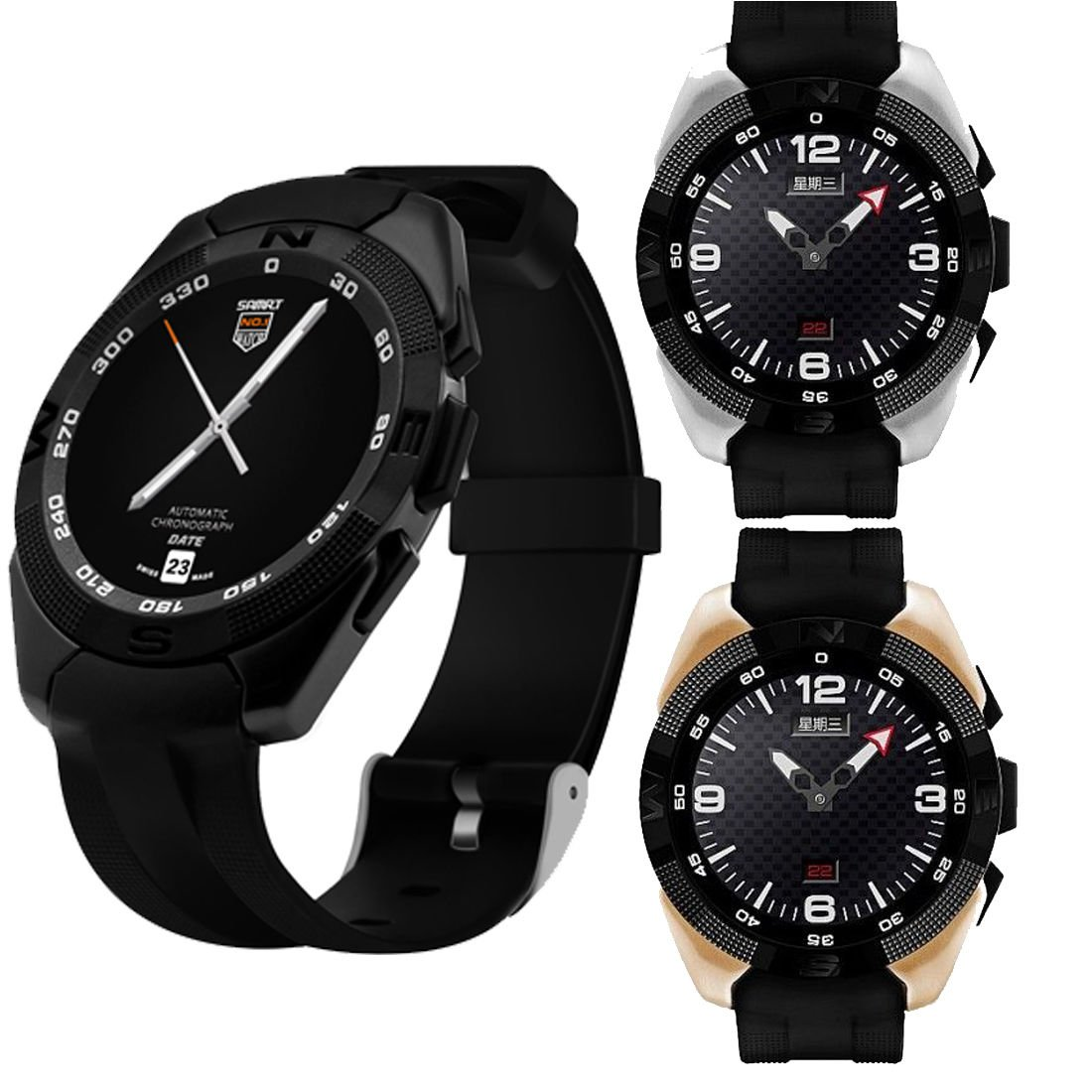 Amazon.com: G5 Smart Watch Bluetooth Fitness Tracker Sport ...