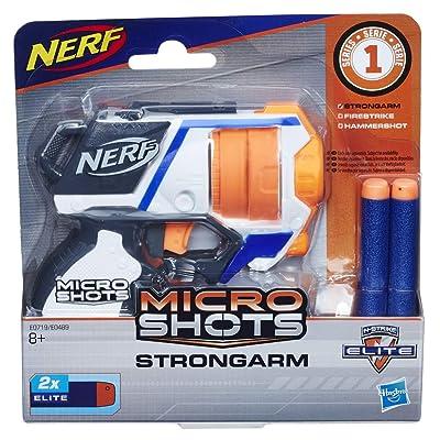Nerf- Microshots Strongarm SE1, (Hasbro E0719ES0): Juguetes y juegos