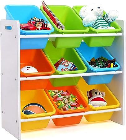 Kinderschrank Kinderregal Spielzeugregal Spielzeugkiste Bücherregal Kinder Boxen