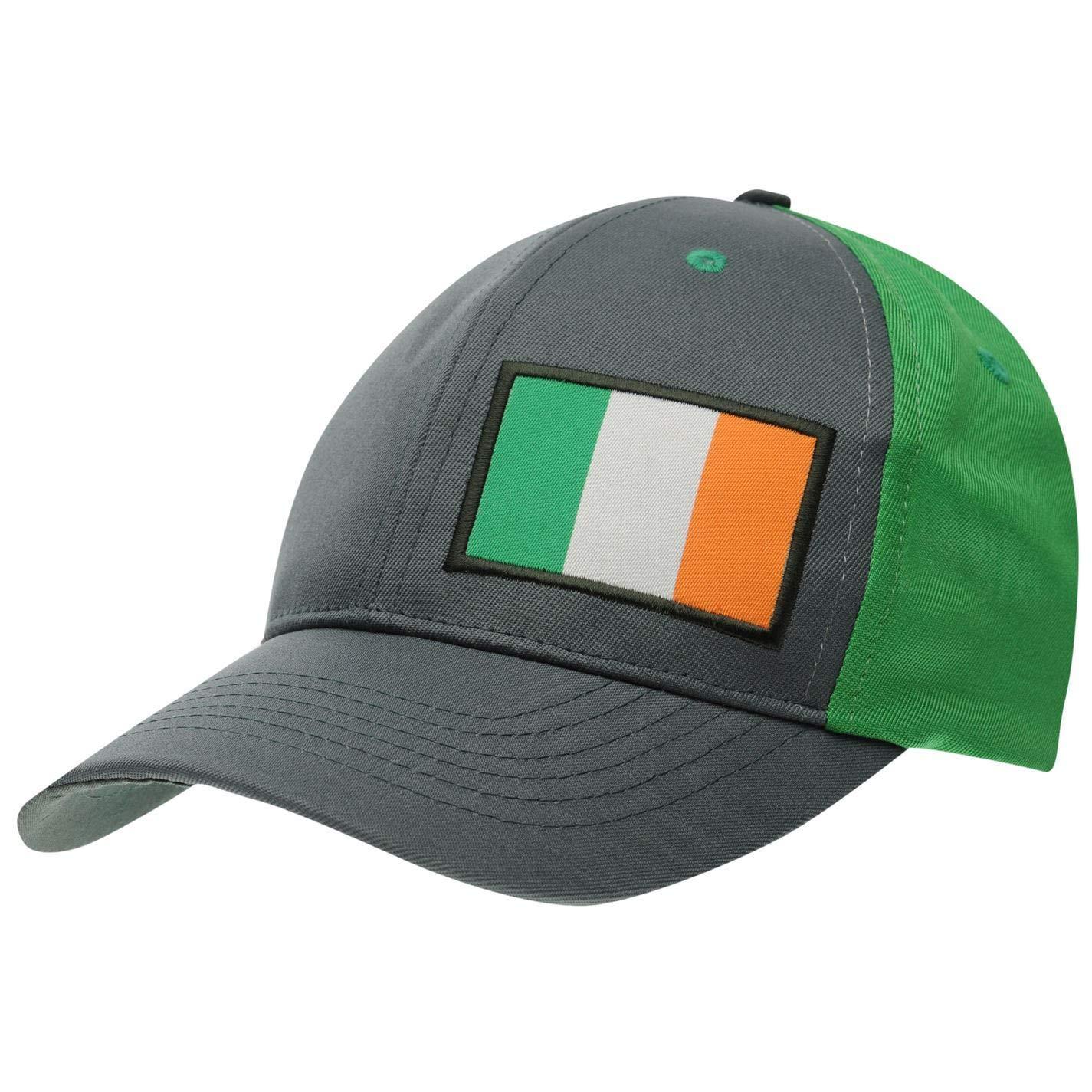 Grey Mens National Cap Mens Baseball Hat Headwear