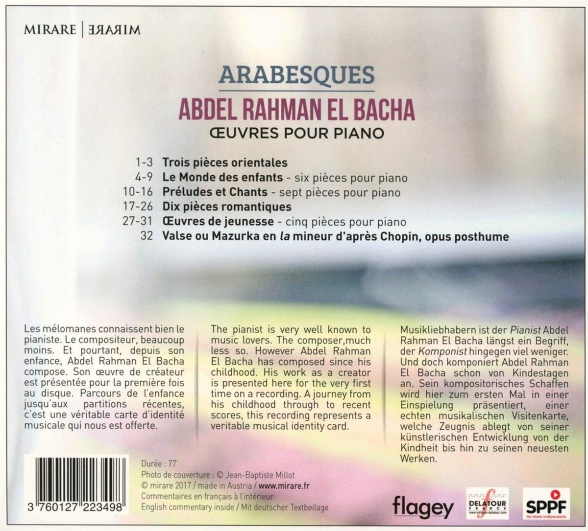 Abdel Rahman El Bacha Arabesques Amazon Com Music