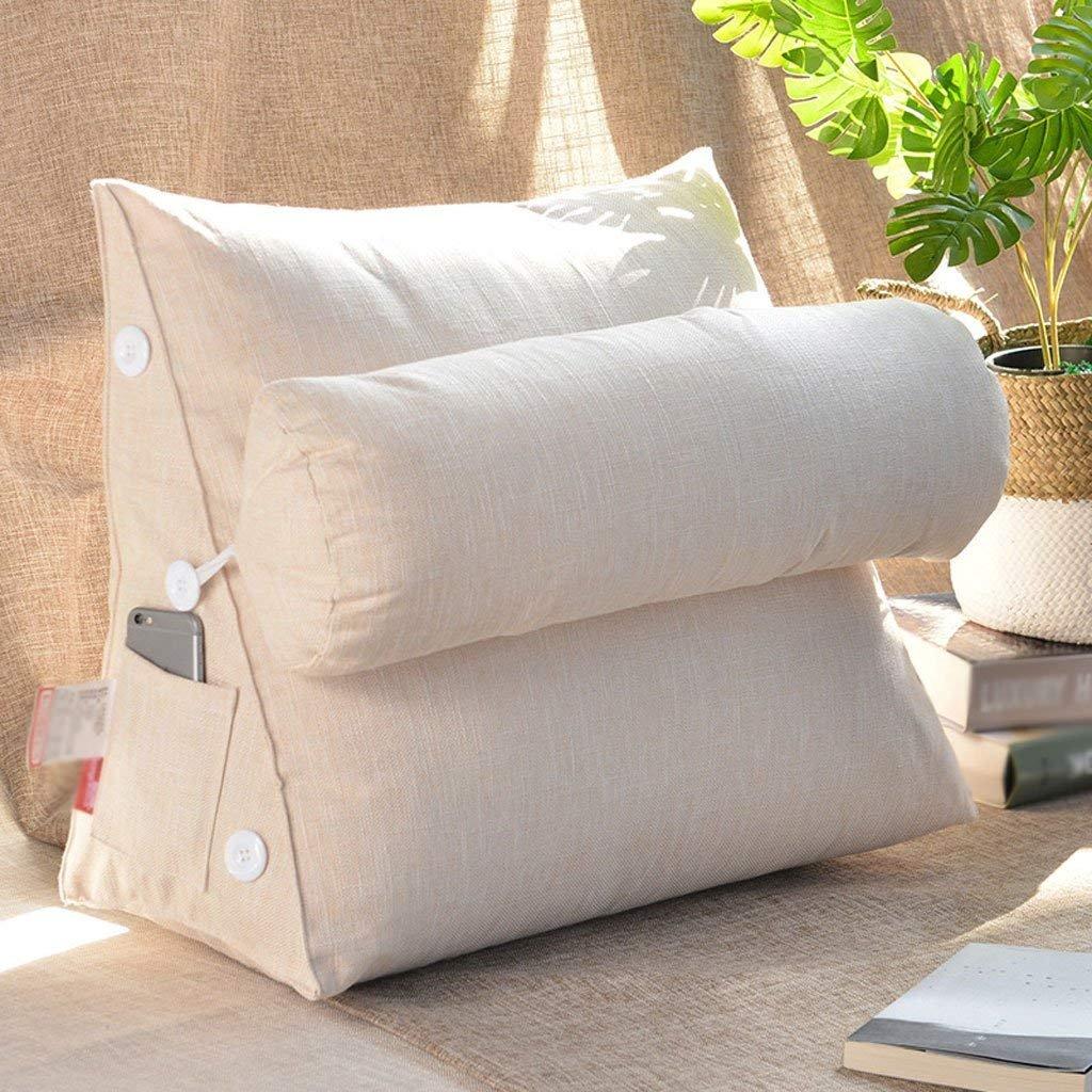 クッション  2018新しい純粋な色の綿とリネン洗えるアメリカの枕のベッド背もたれソファの枕オフィスのウエストのサポート ファッション z B07F6TPV3D 45 cm 45 cm 8# 8# 45 cm 45 cm