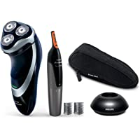 Philips Norelco 4000 Series Electric Shaver (Black/Silver)