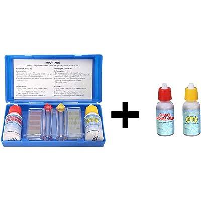 Tamar Test Kit Cloro y Ph con Recambio