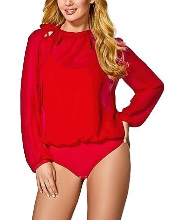 Vestiva BDV 062 Traumhafter Body Für Damen, Langarm, Top Qualität, Made In  EU: Amazon.de: Bekleidung